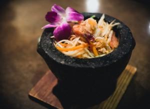 Salade de papaye thai