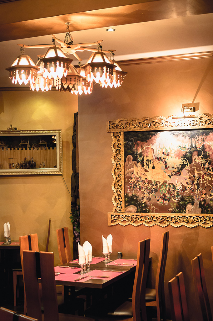 Salle du restaurant thai 3