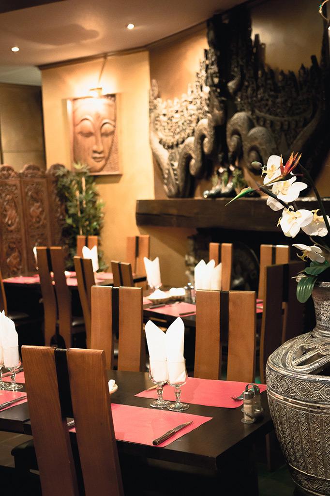 Salle du restaurant thai 4